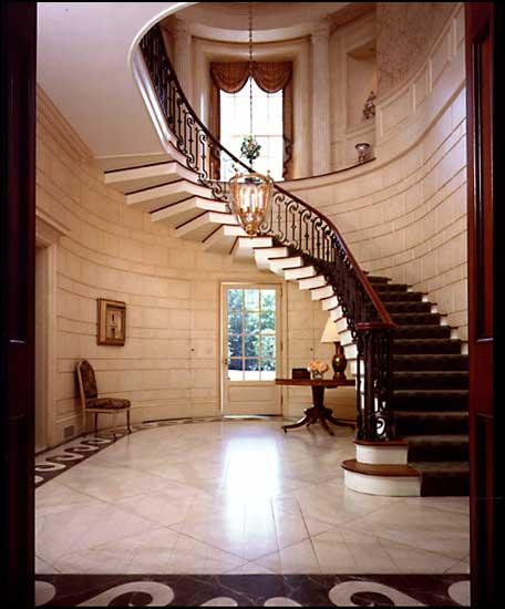 Grand Foyer Staircase: Living X Design