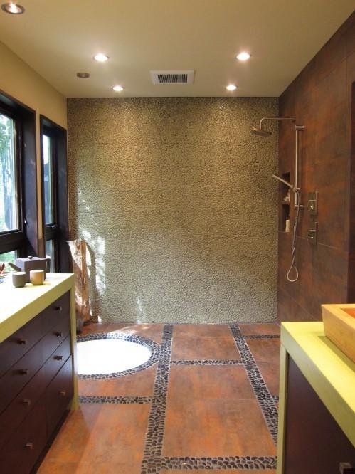The tub story living x design for Sunken bathtub