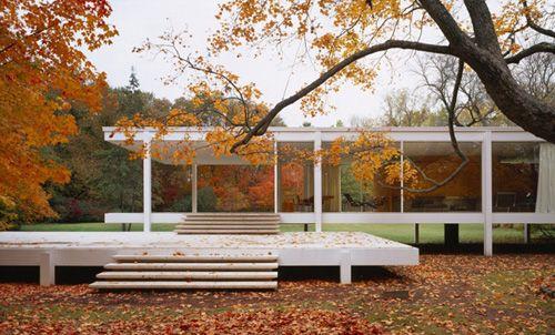 Projekt: Farnsworth House Architekt: Mies van der Rohe
